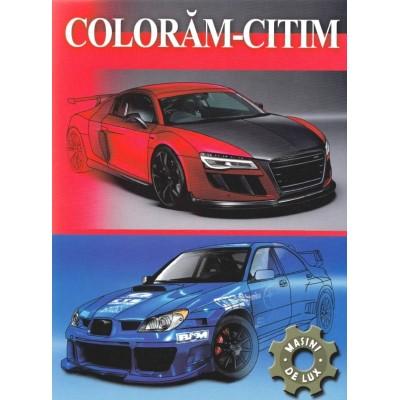 Masini de lux - Carte de colorat