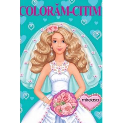 Mireasa – Carte de colorat