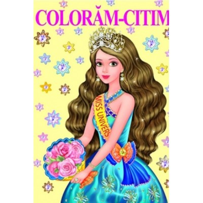 Miss Univers – Carte de colorat