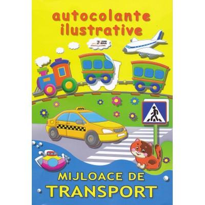 Mijloace de transport - Autocolante ilustrative
