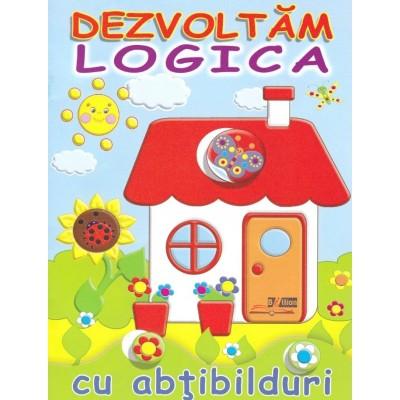 Casuta - Dezvoltam logica cu abtibilduri