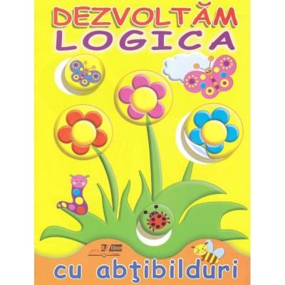 Flori - Dezvoltam logica cu abtibilduri