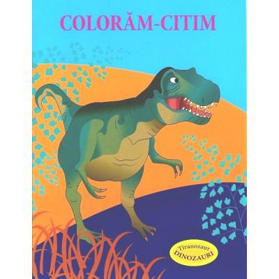 Tiranozaur – Dinozauri - Carte de colorat