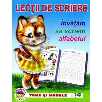 Invatam sa scriem alfabetul - Lectii de scriere